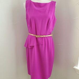 Antonio Melani Neon Purple Dress